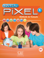 Nouveau pixel 1, francuski jezik, udžbenik za 5. razred osnovne škole