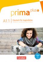 Prima plus A1.1, nemački jezik, udžbenik za 5. razred osnovne škole