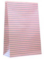 Ukrasna kesa - Srca, roze pozadina, M