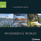 kalendar - geo wonderful world 2019