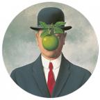 Držač papira - Magritte, fils de l'homme