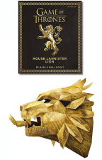 Game Of Thrones Mask: The House Lannister Lion