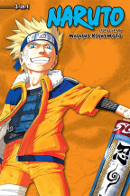Naruto 3 In 1 Edition, Vol. 4