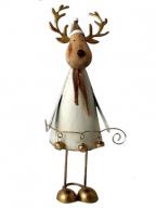Novogodišnja figura - Reindeer with Bells, S