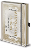 agenda harry potter - hogwarts express ticket