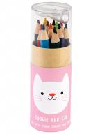 Set drvenih bojica - Cookie The Cat