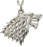 Game of Thrones privezak na lancu - Stark Pendant