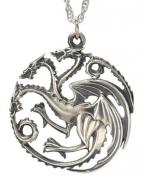 Game of Thrones privezak na lancu - Targaryen Pendant