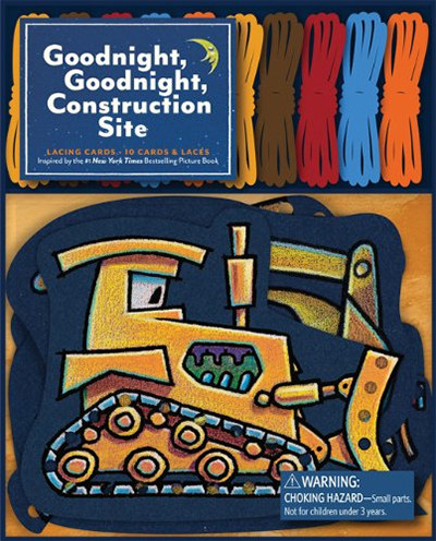 Goodnight, Goodnight, Construction Site (Lacing Cards)