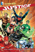 JUSTICE LEAGUE VOLUME 1: ORIGIN