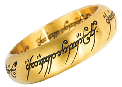 LOTR Prsten - One Ring, Gold