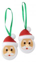 Novogodišnji ukras - Santa Tea Lights