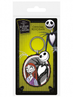 Privezak Nightmare Before Christmas - Jack & Sally