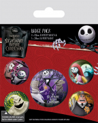 Set Bedževa - Nightmare Before Christmas