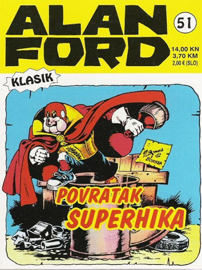 Alan Ford klasik 51: Povratak Superhika