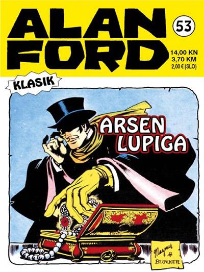 Alan Ford klasik 53: Arsen Lupiga