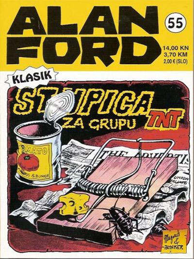 Alan Ford klasik 55: Stupica za grupu TNT