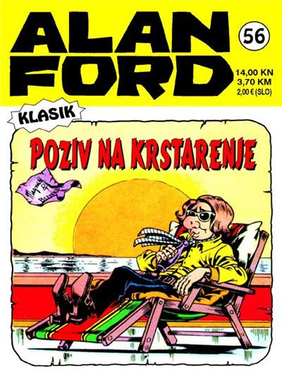 Alan Ford klasik 56: Poziv na krstarenje
