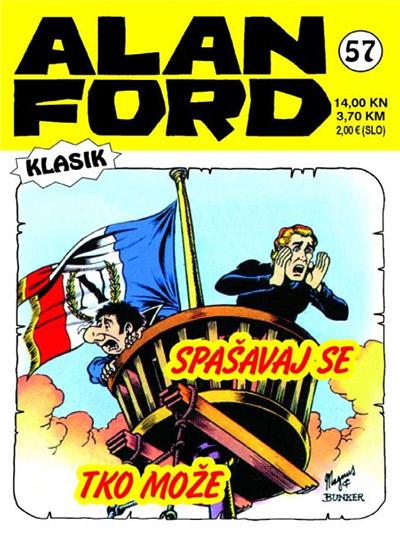 Alan Ford klasik 57: Spašavaj se tko može