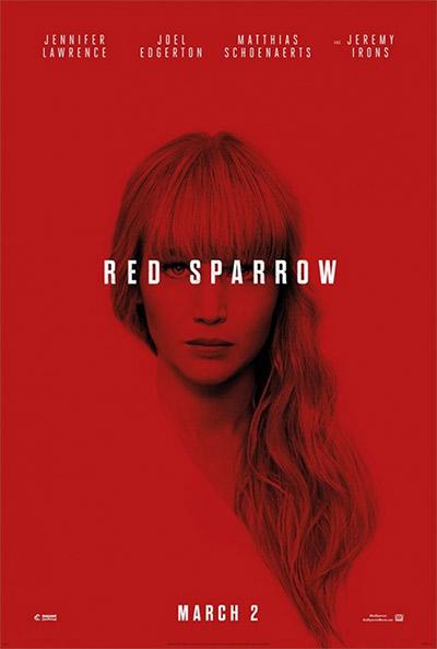 Red Sparrow - Crveni Vrabac, dvd