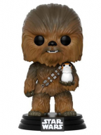 Figura - Star Wars, Chewbacca/Porg
