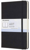moleskine art collection watercolour notebook large black
