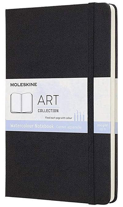 Moleskine Art Collection Watercolour Notebook Large Black