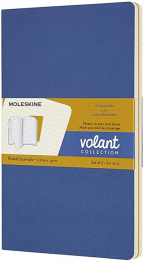moleskine large volant ruled forget journals