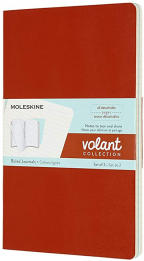 moleskine large volant ruled journals