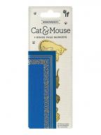 Bukmarker - Bookminders Brass Cat & Mouse