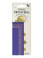 Bukmarker - Bookminders Brass Moon & Stars