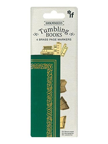 Bukmarker - Bookminders Brass Tumbling Books