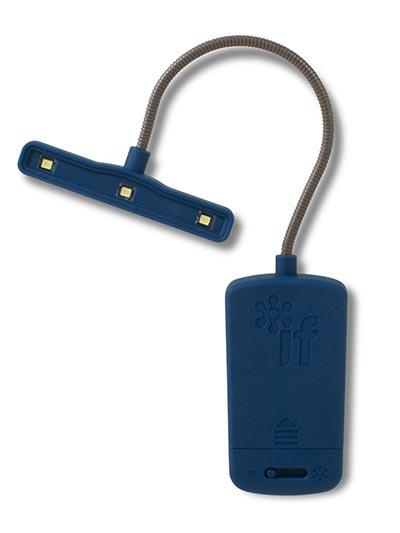The Really Bright Lampica za knjige, Blue