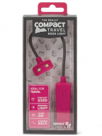 The Really Compact - Lampica za knjige, Pink