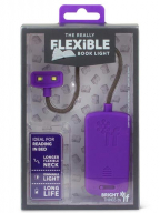 The Really Flexible - Lampica za knjige, Purple
