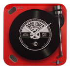 Zidni sat - Musicology, Red Record Player