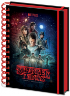 Agenda (Metallic) - Stranger Things, One Sheet