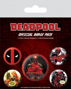 Bedž set - Deadpool, Outta the Way