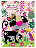 Čestitka - Happy Purr-thday, Panther