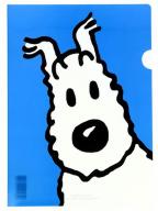 Fascikla - Tintin, Snowy, Blue