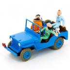 Figura - Tintin, Blue Jeep