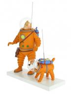 Figura - Tintin & Snowy, Moon