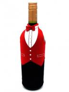 Futrola za flašu - Butler, Red, Black