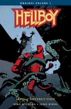 hellboy omnibus volume 1 seed of destruction