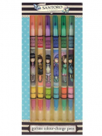 Hemijska olovka set/6 - Colour