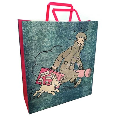 Kesa - Tintin and Snowy, Arriving