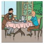 Magnet - Tintin, Breakfast