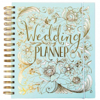 Planer za venčanja - Duck Egg Blue & Gold Foil