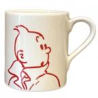 Šolja - Tintin, Portrait