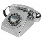 telefon - brushed chrome